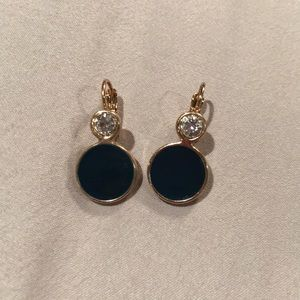 H&M Blue and Gold Earrings!